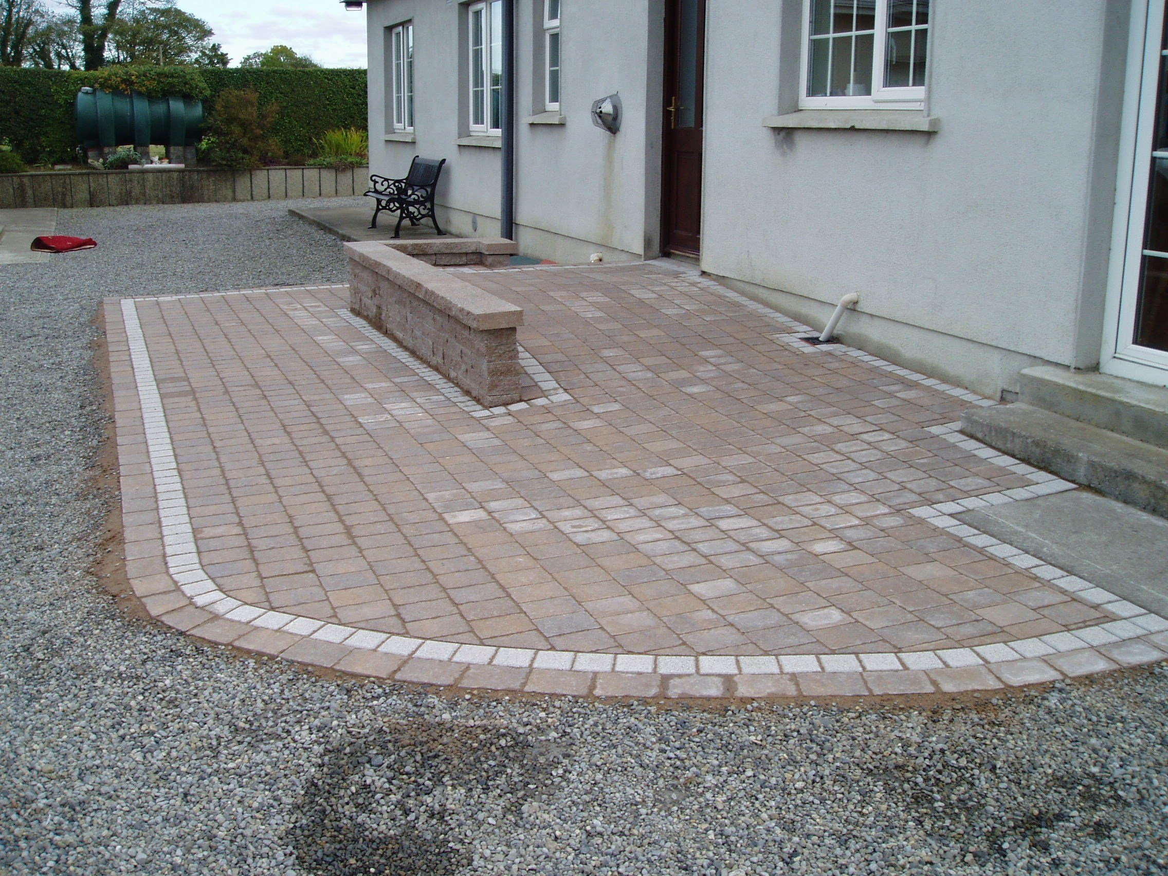 paved wheelchair ramp hardscapes ltd